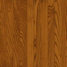 "Dundee Wide Plank 5"" Solid Red Oak Flooring in Gunstock"