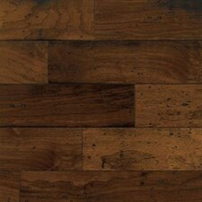 "American Vintage Lock and Fold 5"" Engineered Walnut Flooring in Mesa Brown"