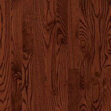 "Dundee Wide Plank 5"" Solid Red Oak Flooring in Cherry"
