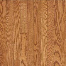 "Dundee Wide Plank 4"" Solid Red Oak Flooring in Butterscotch"