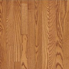 "Dundee Wide Plank 5"" Solid Red Oak Flooring in Butterscotch"