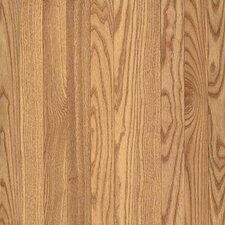 "Dundee Wide Plank 5"" Solid Red Oak Flooring in Natural"