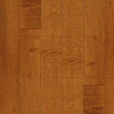 "Kennedale Prestige Wide Plank 4"" Solid Maple Flooring in Cinnamon"