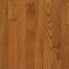 "Waltham 3-1/4"" Solid White Oak Flooring in Brass"
