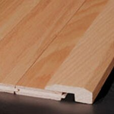"0.625"" x 2"" Red Oak Threshold in Honey Rustic"