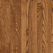 "Bristol 3-1/4"" Solid Red / White Oak Flooring in Gunstock"