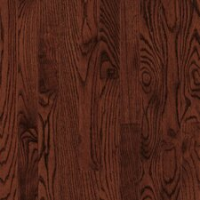 "Bristol 3-1/4"" Solid Red / White Oak Flooring in Cherry"