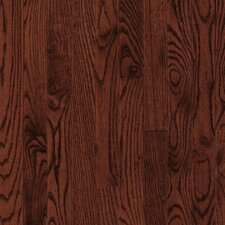 "Dundee Plank 3-1/4"" Solid Red / White Oak Flooring in Cherry"