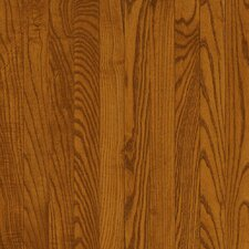 "Dundee Plank 3-1/4"" Solid Red / White Oak Flooring in Gunstock"