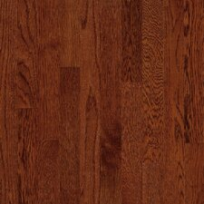 "<strong>Bruce Flooring</strong> Natural Choice Strip Low Gloss 2-1/4"" Solid White Oak Flooring in Cherry"