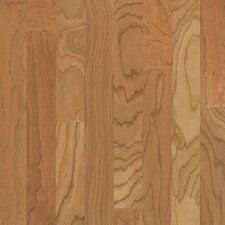 "Turlington American Exotics 5"" Engineered Cherry Flooring in Natural"