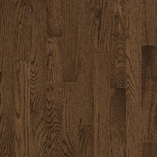 "Natural Choice Strip Low Gloss 2-1/4"" Solid White Oak Flooring in Walnut"