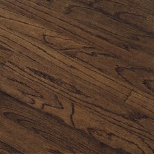 "Northshore Plank 5"" Engineered Red Oak Flooring in Vintage Brown"