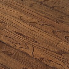 "Northshore Plank 5"" Engineered Red Oak Flooring in Saddle"