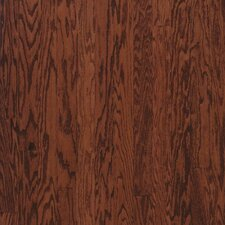 "Turlington Plank 5"" Engineered Red Oak Flooring in Cherry"