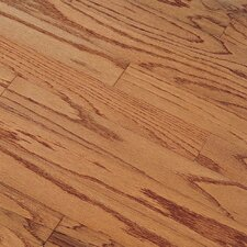 "Northshore Plank 7"" Engineered Red Oak Flooring in Gunstock"