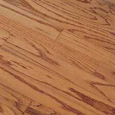 "Northshore Plank 5"" Engineered Red Oak Flooring in Gunstock"