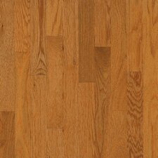 "Natural Choice Strip Low Gloss 2-1/4"" Solid White Oak Flooring in Butter Rum / Toffee"