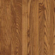 "Westchester Strip 2-1/4"" Solid Red/White Oak Flooring in Gunstock"