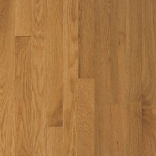 "Waltham Strip 2-1/4"" Solid White Oak Flooring in Corn Silk"