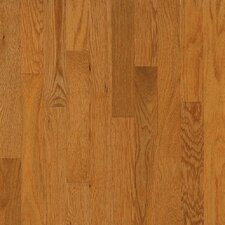 "Dundee Plank 3-1/4"" Solid White Oak Flooring in Butter Rum"