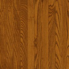 "Dundee Strip 2-1/4"" Solid Red / White Oak Flooring in Gunstock"