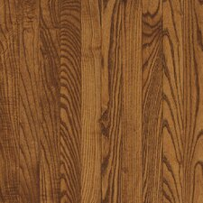 "Dundee Strip 2-1/4"" Solid White Oak Flooring in Fawn"