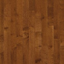 "Kennedale Strip 2-1/4"" Solid Dark Maple Flooring in Sumatra"