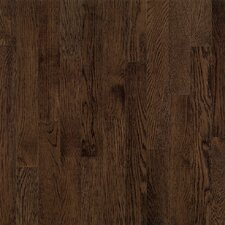 "Dundee Strip 2-1/4"" Solid White Oak Flooring in Mocha"