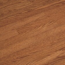 "Fulton Low Gloss Strip 2-1/4"" Solid Red/White Oak Flooring in Gunstock"