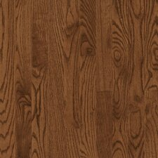 "Manchester Plank 3-1/4"" Solid Red Oak Flooring in Saddle"