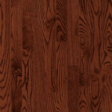"Manchester Strip 2-1/4"" Solid Red Oak Flooring in Cherry"