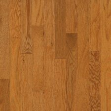 "Natural Choice Strip 2-1/4"" Solid White Oak Flooring in Butter Rum/Toffee"