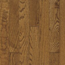 "Ascot Strip 2-1/4"" Solid Oak Flooring in Chestnut"