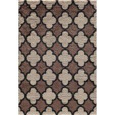 Tacoma Pearl/Cocoa Quadrant Two Tone Rug