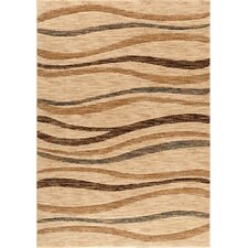Shadows Mamba Beige Area Rug