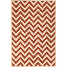 Terrace Bone/Clay Static Rug
