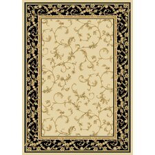 Radiance Wheat/Black Felix Rug
