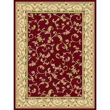 Radiance Felix Crimson/Wheat Rug