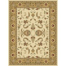 Persian Radiance Amelia Wheat/Gold Area Rug