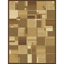 <strong>Central Oriental</strong> Shadows Bastille Brown Rug