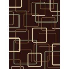 Encore Circuitry Brown/Tan Area Rug