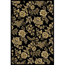 Interlude Juniper Black Rug