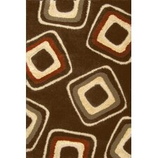 <strong>Central Oriental</strong> Miracle Brown and Terracotta Nucleus Rug