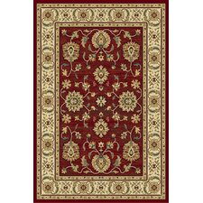 Paige Crimson and Wheat Thayer Rug