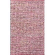 Hideaway Pink/Ivory Area Rug