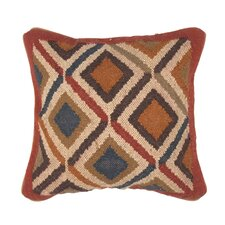 Bedouin Traditional Wool and Jute Pillow