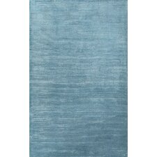 Basis Blue Solid Area Rug