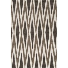 Fusion Brown/Ivory Geometric Rug