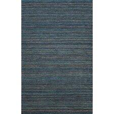 Hula Dark Blue Stripe Area Rug